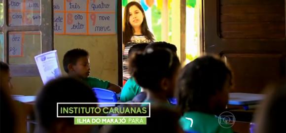 Crianças fazem intercâmbio em realidades bem diferentes - Caruanas no Fantástico